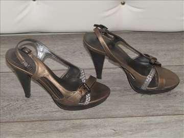 Sandale br. 38 bronzane