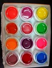 UV gelovi u boji - jarke boje!