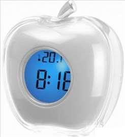Led sat koji govori vreme i temperaturu