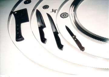 Oštrenje noževa mesoreznice, oštrenje satara