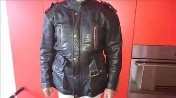 Kožna jakna motorska