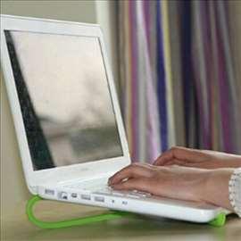 Postolje stalak kuler za laptop tablet extra