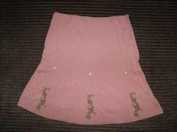 Roze suknjica