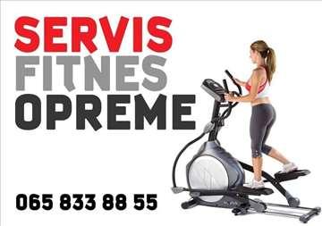 Servis profesionalne i kućne fitnes opreme