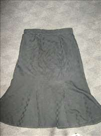 Suknja sa kockicama