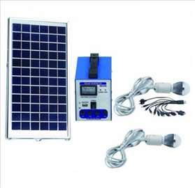 Solarni sistem 12V/6AH +2 sijalice i USB