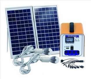 Solarni sistem 12V/7AH +2 sijalice i USB