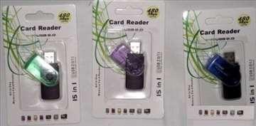 All in one - USB čitači kartica - 15 u 1