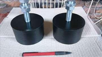 Gumena stopa za nivelaciju mašina