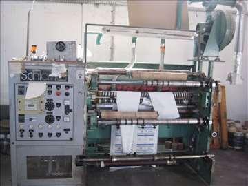 Mašina za uzdužno rezanje papira sliter-Schiawi