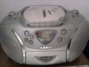 Radio, kasete rekorder sa audio cd-om