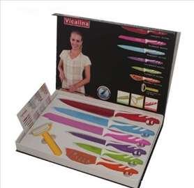 Set od 6 keramičkih noževa + ljuštilica