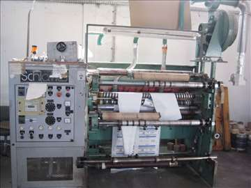 Mašina za uzdužno rezanje papira Sliter-Schiwai