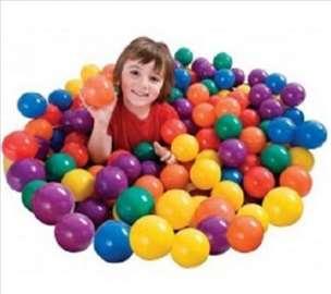 Šarene loptice za igru 100 komada - novo