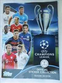 Album Champions League 2015/2016, nov i prazan