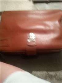 Prodaje se mali kožni braon koferčić