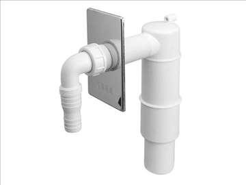 Sifon za veš mašinu sa nepovratnim ventilom