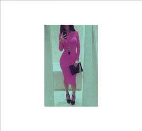 22) Prelepa haljina VIŠE BOJA