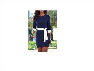 245) Prelepa pamučna haljina  VIŠE BOJA