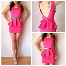 153) Slatka pamučna haljinica  više boja