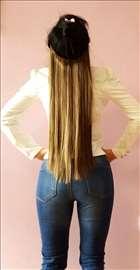 Nadogradnje kose poluprirodne