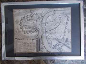 Slika - Mapa Praga