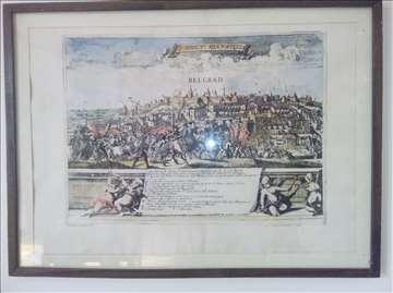 Slika - Osvajanje Beograda 1688.