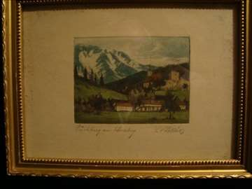 Slika - Planinski pejzaž