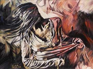 """""""Miseterija"""" slika, ulje na platnu"""