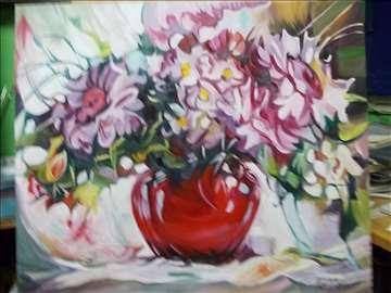 """""""Vaza"""" slika, ulje na platnu"""