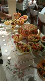 Ekskluzivni voćni sto i voćna torta