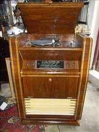Kabinet radio i gramofon