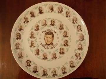 Zidni ukrasni tanjir