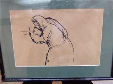 Crtež Konjović
