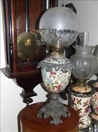 Majolika lampa 3