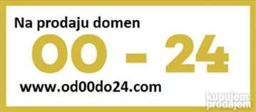 Prodajem domen od00do24.com