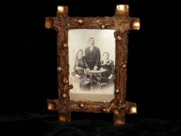 Stari drveni ram za slike (315)