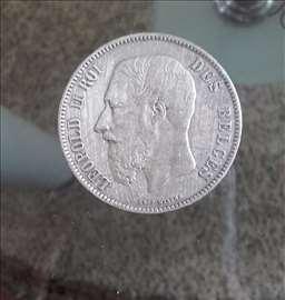 Leopold II Roi Des Belges 1872