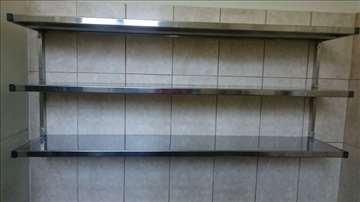 Trodelna zidna polica 150-25cm