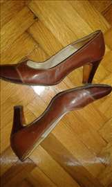 Kožne cipele braon boja br. 37