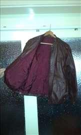 Ženska kožna jakna bodo