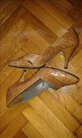 Zmijske cipele, ručna izrada, boja krem br. 37