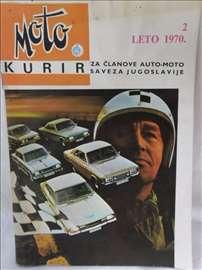 Časopis Moto Kurir br.2/leto 1970,61 str
