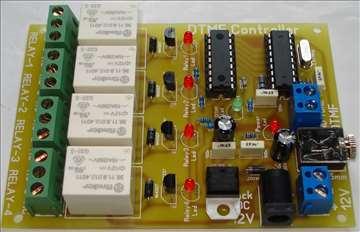 DTMF Controller - Relejni Kontroler