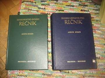 2 engleska rečnika