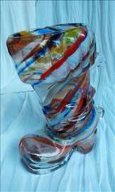 Italijanska čizma od Murano stakla