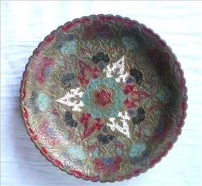 Mesingana činija, rukom oslikana