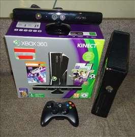 Xbox 360 RGH 250gb, Kinect