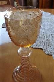 Čaša duvano staklo