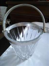 Kristal činija za led